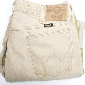 WRANGLER》rugged wear canvas brushguard jeans 36x30